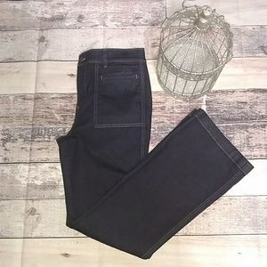 Ann Taylor high rise straight leg jeans in size 10
